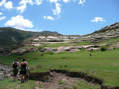 Hiking Lesotho