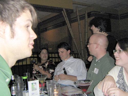 Zak, Adrienne, Atticus, Elaine, Kyle and Christina