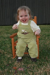 Rocking Chair - 19 months old