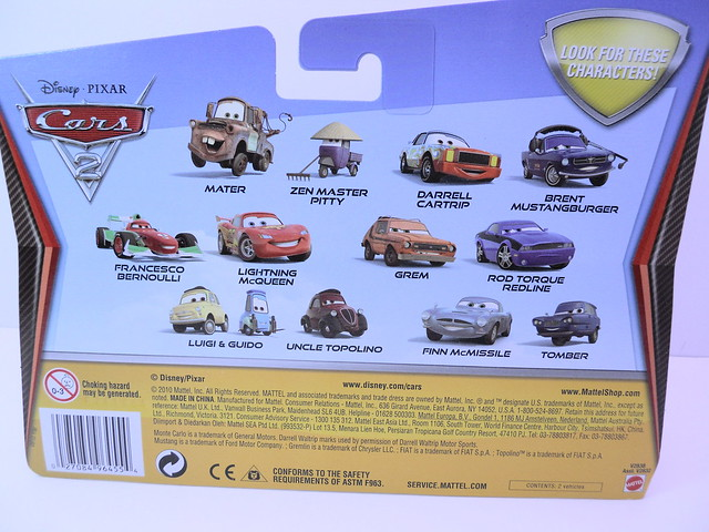 disney cars 2 movie doubles finn mcmissle tomber (2)