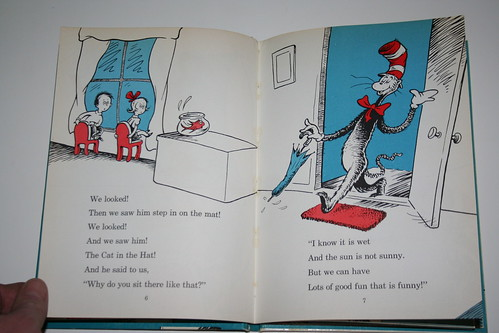 """Cat in the Hat"" - Third Printing - Pages"