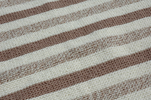 Chocolate Vanilla Swirl Blanket
