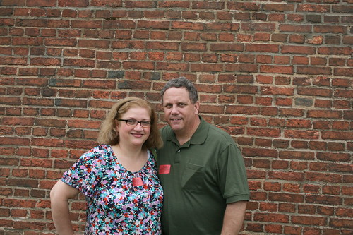 Dianne and Brian at Fort McHenry