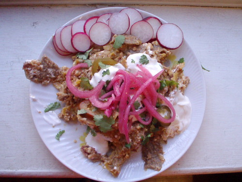 These chilaquiles illustrate potential deliciousness