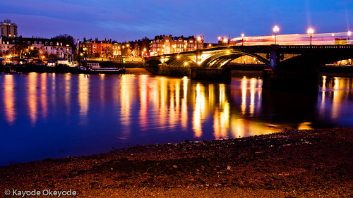 Battersea Bridge at Twilight