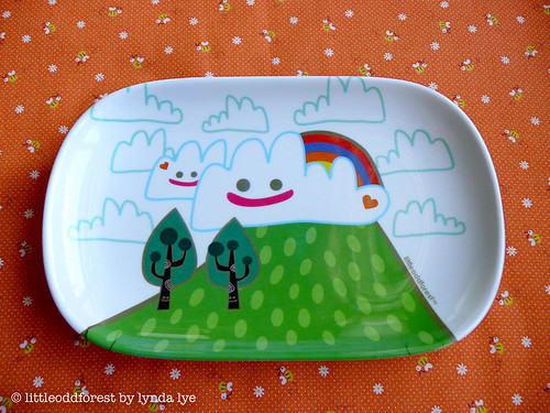 A Lovely Day Plate/Tray
