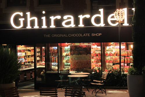 Ghirardelli chocolate factory store