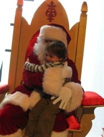 Colin and Santa