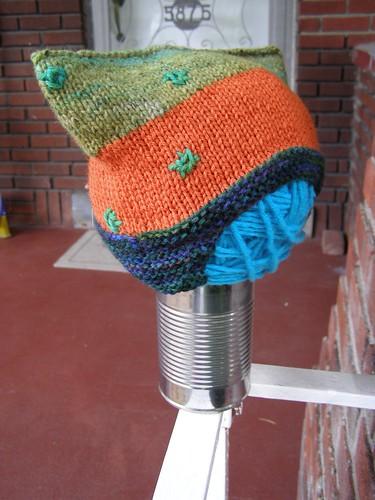 green snowfall helmet hat