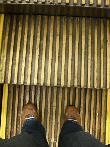 My feet, in Macy's