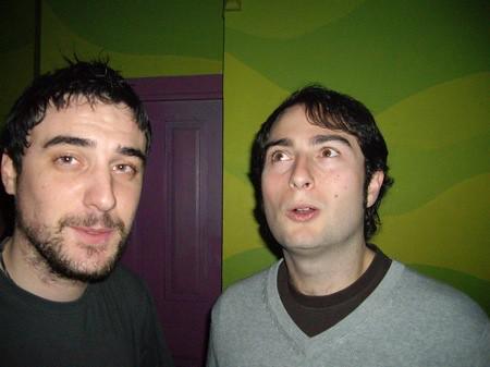 Pablo y Tano en La Bola