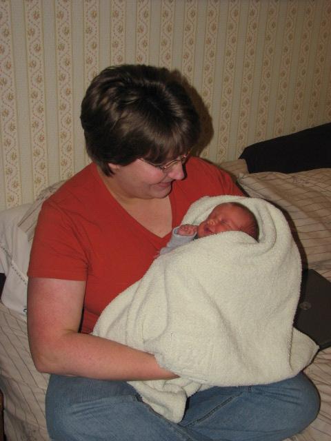 Mama and James