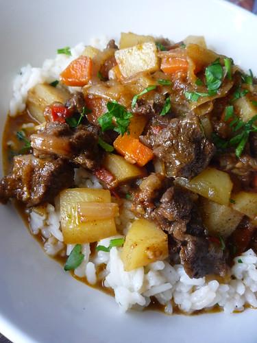 Jerk Mutton Stew