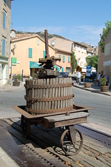 Wine Press in La Garde Freinet