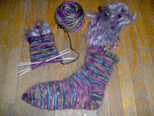 Thrum Socks - 1