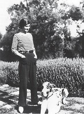 Coco Chanel in the 1920's