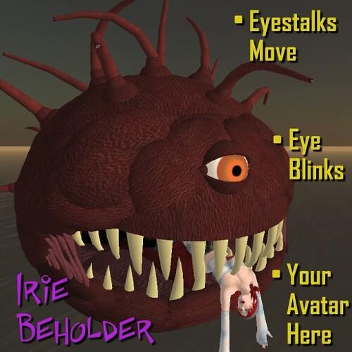 Irie Beholder Ad