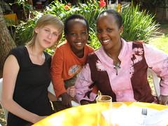 Me, Rachel and Mika