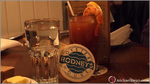 Rodney's Oyster House, Yaletown, Vancouver