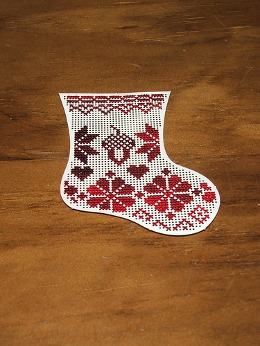 Quaker Stocking - Wee Works