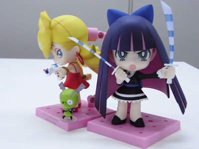 Nendoroid Panty and Stocking in action!