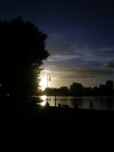 Sundown Lake Merritt