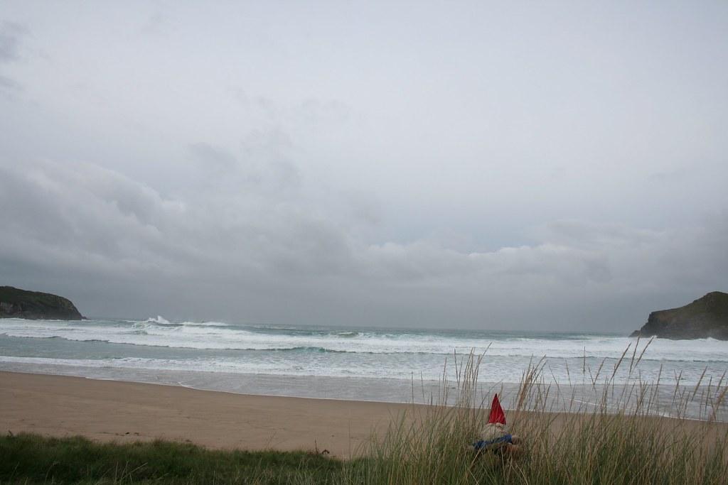 En la Playa de Pantín cerca de Ferrol