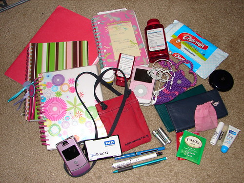 What's In My Bag Jan 2008