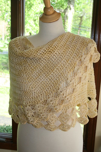 Another pretty crocheted one!  :)