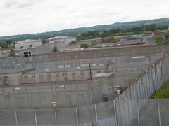 Los bloques H de la prisión de Long Kesh, desde la torre de vigilancia