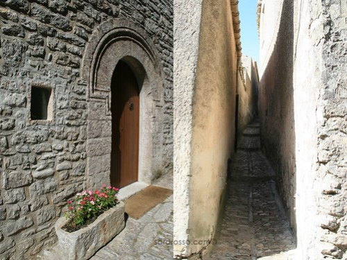 Erice doors and alleyways, Sicily