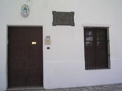 La maison natale de Sarmiento, petite mais authentique.