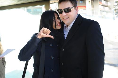 Mike Arrington and Meghan Asha