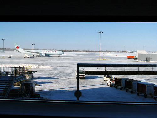 Waiting to Leave Montreal