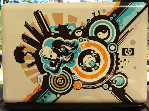 TB Tech Blog - HP Pavilion dv2840tx Artist Edition