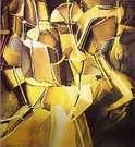 Marcel Duchamp. Transition of Virgin into a Bride. 1912.