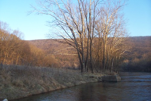 Shenandoah Valley, river, trees, mountains