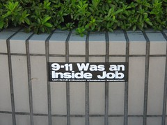 9-11 Was an Inside Job Sticker