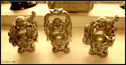 Three Golden Buddhas