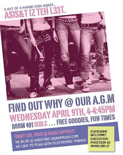 ASIS&T AGM Poster
