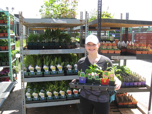 me with plants at Stein's