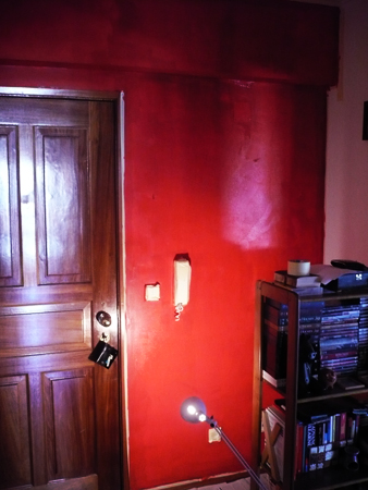 #120 - Red paint