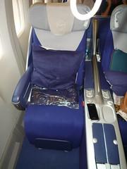 747 Business Class Seat