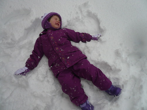 Snow Angels are fun?
