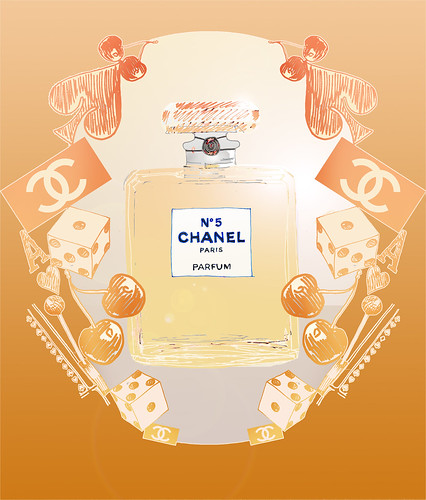 Chanel Chance Illustration