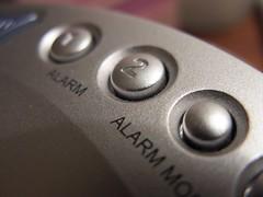 Alarm Clock Buttons