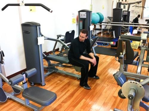 Morning gym, ジムなう