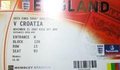 England versus Croatia