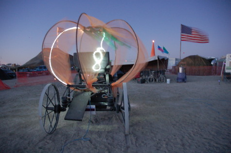 Here, from Jons photostream, is what it looked like on the playa.