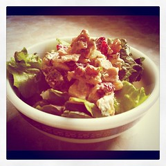 Cranberry Ramp Walnut Chicken Salad - Instagram